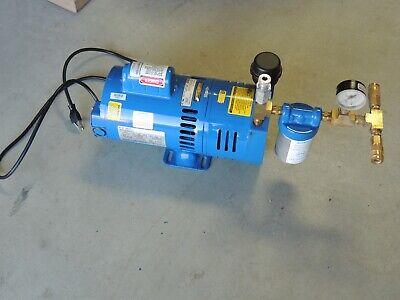 Allegro 9821 Fresh Ambient Air Pump 8.3 Ac 34hp Sas 9820 Painting New Oil Less