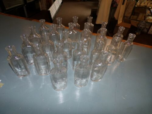 Antique Set Of 25 Matching Pharmaceutical Bottles 3ii