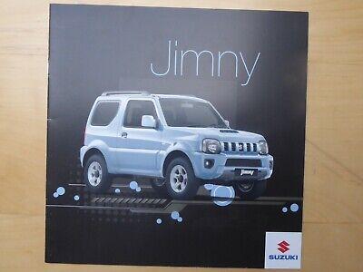 SUZUKI Jimny brochure in French, MY 2013