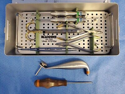 W. Lorenz 01-7311 1.5mm Neuro Osteosynthesis System Set