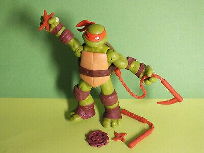 Turtles 2012 Viacom Michelangelo Action Figur 12cm Rarität  (Teenage Mutant Ninja Turtle Michelangelo)