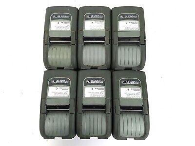 Zebra Ql220 Plus Mobile Thermal Label Printer Bluetooth Wlan Q2d-luga0000-00