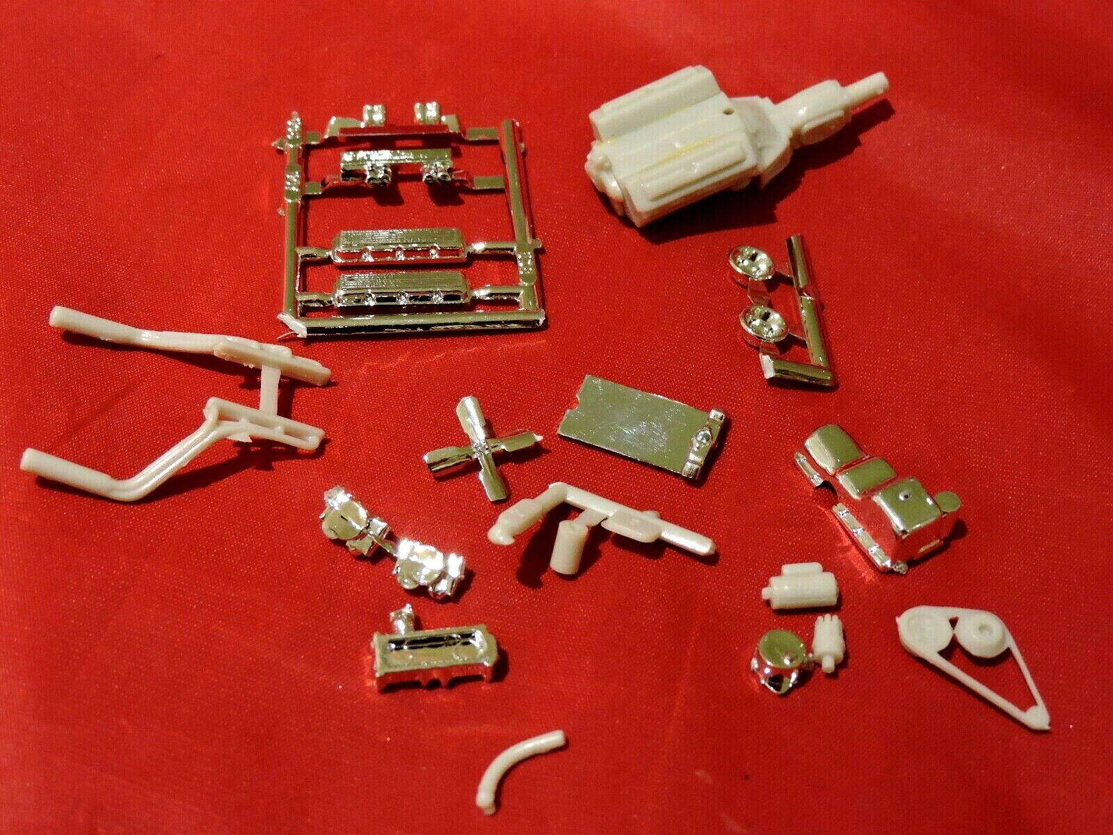 Car Parts - Model Car Parts AMT Chevy 454 Drag Car Engine 1/25