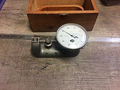 Nice Alina Swiss Made Test Indicator .0001  0 - 1 Cap Inspection Center