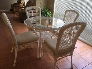 Indoor / outdoor cafe dining table Mount Annan Camden Area Preview