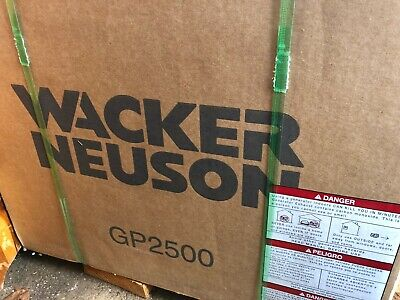Brand New In Box Wacker Neuson Gp2500 Portable Generator 5200002844