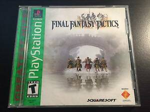 Final Fantasy Tactics - Playstation 1 (PS1) NTSC Kensington Park Burnside Area Preview