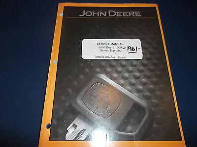 John Deere 1010 1020 Tractor Dozer Technical Service Shop Repair Manual Sm2033