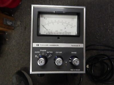 Taylor Hobson Surftronic 2 Profilometer
