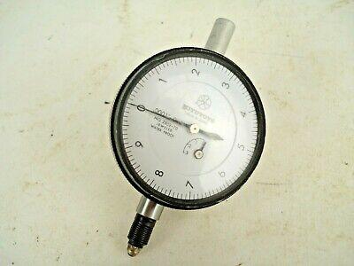 Dial Indicator Mitutoyo Machinists No. 2804-70 Dial Indicator .025 Range .0001