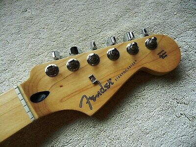 Genuine Fender Stratocaster Strat Neck Maple Fingerboard 2019 22 Frets Great!