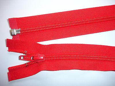 RV 322 Reißverschluß ykk rot 66cm, teilbar  1 Stück