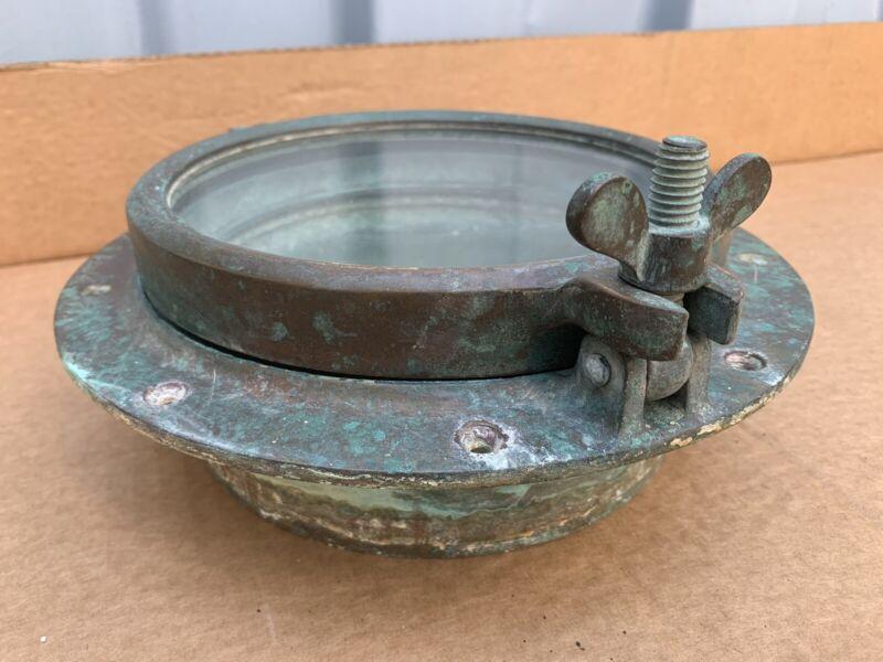 Vintage Wilcox Crittenden #7 Bronze Porthole