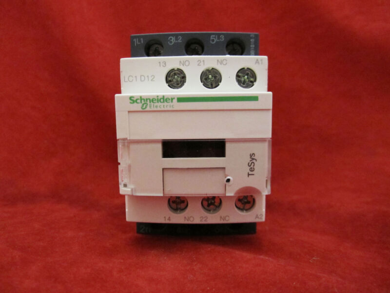 Schneider/Telemecanique LC1D12F7 Magnetic Contactor AC110V