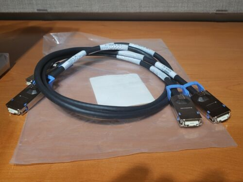 2-NEW CAB-INF-28G-1 Cisco Compatible 10GBase-CX4-CX4-1M 1-Meter Infiniband Cable
