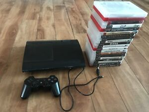 Ps3 with 21 games + controller