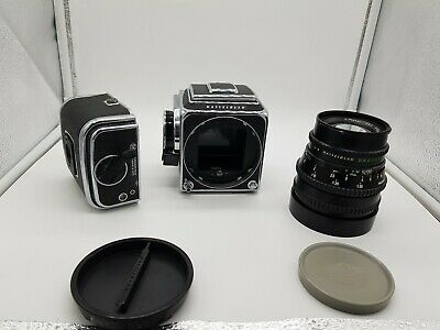 Hasselblad Camera 500 C/M (1975) KIT 120mm S Plan  -Works Perfectly - UK SELLER