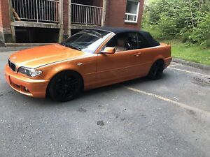 Orange e46 drop top bmw READ AD