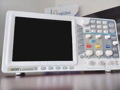 Sds7072e-v Digital Oscilloscope With Lcd Screen Of 8-inch 2 Channels