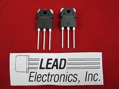 Qty2 Toshiba 2sk3878 K3878 Tos Mosfet N-ch Fet Rds To-3p