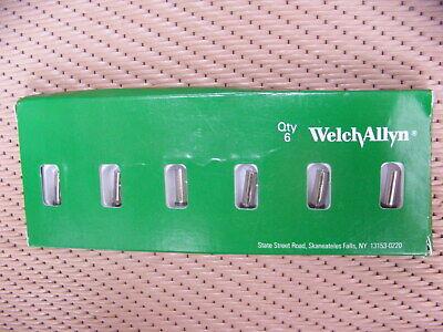 Welch Allyn 03000-u6 Halogen Lamp Package Of 6 Lamps