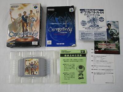 Usado, F155 Nintendo 64 Ogre Battle Japan N64 w/box bx comprar usado  Enviando para Brazil