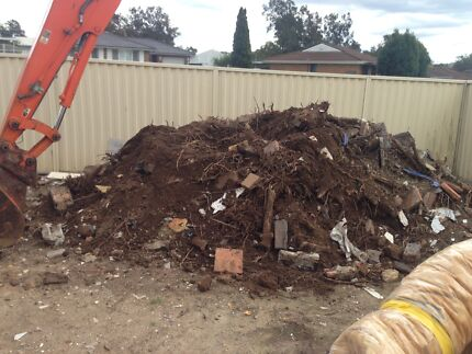 Cheap excavator, Bobcat and tipper hire  Fairfield Fairfield Area Preview