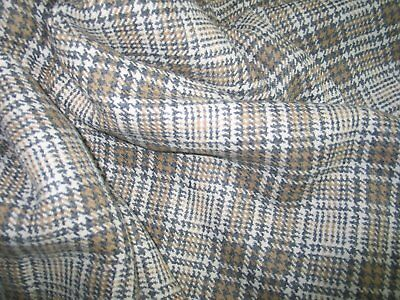 """Peruvian Alpaca Wool Fabric Vintage UNUSED~61""""x 116"""" (3.22 yards) Unused Medium"""