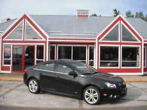 2014 CHEVROLET CRUZE SUNROOF HEATED LEATHER BACKUP CAM