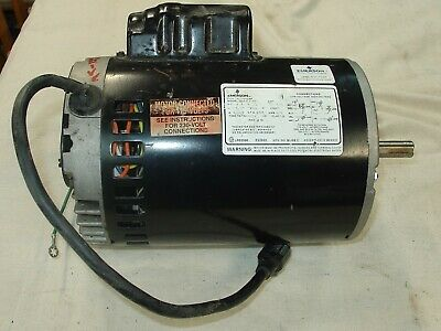 A. B. Dick Printing Press Parts 9800 Series Vacuum Pump Drive Motor 12 Hp