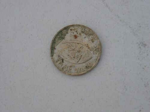 Large Vintage Norco Car & Truck Wash Token Bearded Cowboy with Lucky Horse Shoe
