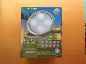 Arlec Deck Light Kit LED with 10 lights DIY install Stainless Iluka Joondalup Area Preview