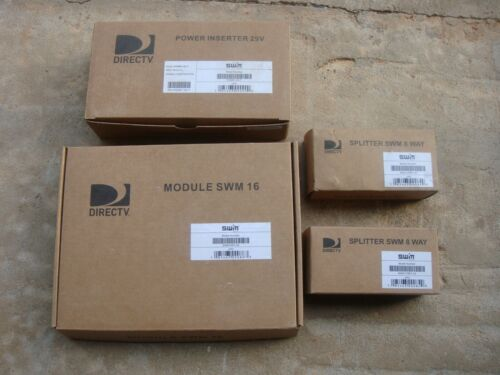 DIRECTV MULTISWITCH SWM16  SWM 16 MODULE  MRV WITH PI29 AND 2 8 WAY SPLITTER