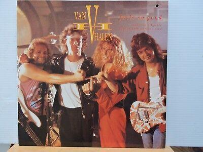 VAN HALEN Feels So Good 1989 3 TRACK 12