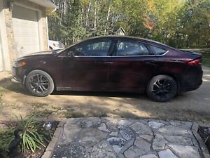 2018 Ford Fusion with low mileage