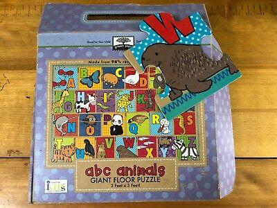 Innovative Kids abc animals Giant Floor Puzzle