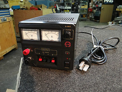 International 230-240v Ac 50hz Dc Power Supply 3-15vdc 13a Dick Smith D-3812