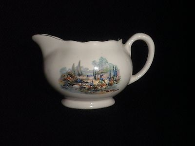 Sandland Ware Lancaster & Sandland Vintage Cream Jug In An Old World Garden Rare