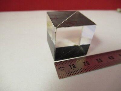 Optical Cube Beam Splitter Prism Optics As Pictured Ft-2-75