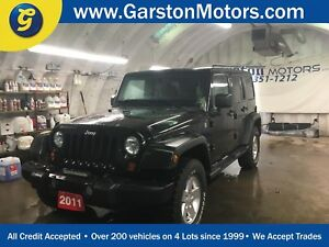 2011 Jeep Wrangler SPORT*ALLOYS*AM/FM/XM/CD/AUX*TRACTION CONTROL