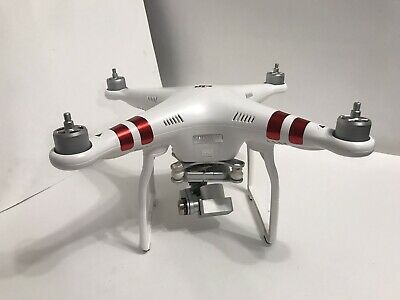 DJI Eidolon 3 Standard QUADCOPTER W321 UNTESTED Crash Damage Needs Repair ONLY