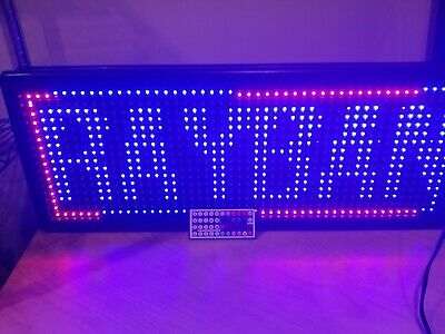 Led Programmable Sign