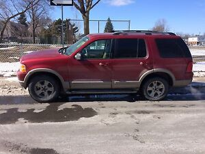 2003 ford explore Eddie Bauer fully loaded