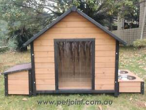 XL Extra Large Dog House Kennel Free Postage Wooden Pet Puppy Home Pet