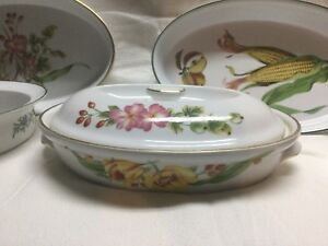 Royal Worcester Herb dishes