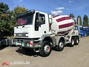 IVECO 340 EH* Betonmischer* Stetter 9m³* AT-Motor