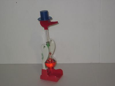 Drinking Bird - Gag / Joke Funny Drinking Bird - Novelty Toy Uses Thermodynamics