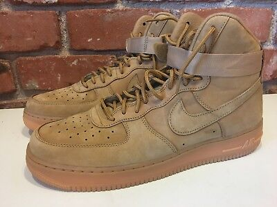 Nike Air Force 1 High '07 LV8 Flax Wheat Collection 882096 200 Size: 12  NEW