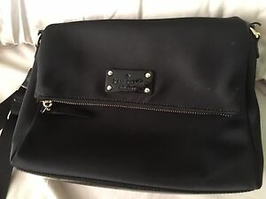 Kate spade nylon black shoulder bag great condition
