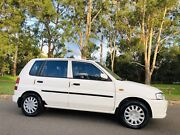 1997 Mazda 121 Hatch AUTO 6Months Rego Logbooks White Moorebank Liverpool Area Preview